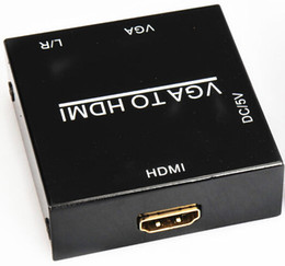 Wholesale 2015 Rushed Special Offer Lcd Tv Led Letv One Details About Hd p Hdmi Vga Mini Scaler Box Convertitore Digitale Video for Audio Adatta