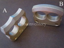Wholesale Brass Two Finger Knuckle Duster Punch Tiger Finger CNC Machined g pc Polished Surface