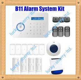 Chuango B11 Smart Home TouchKeypad GSM Phone SMS SIM CARD   PSTN Wireless Home Security Burglar Alarm System