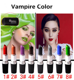 Vampire Color Lipstick Waterproof lipstick stand holder Top Quality Matte Lipstick Makeup Luster Lipstick Frost Lipstick Matte Lipstick