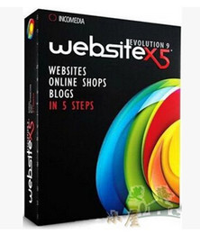 Wholesale Visual web design software Incomedia WebSite X5 Evolution v9