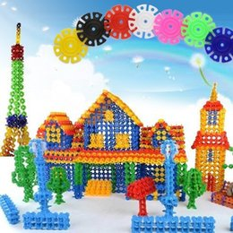 Wholesale WJL024 pack Plastic Building Blocks Children s Toys Blocks Items Gear Stuff Accessories Supplies Products