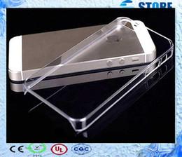 2017 cas transparents pour iphone 4s Étui rigide pour Apple iPhone 6 plus 5S 4S Ultra Transparent en plastique Transparent Plastique Back téléphone Couverture pour 6 4.7 cas transparents pour iphone 4s à vendre
