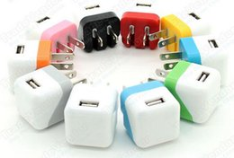 USB Home AC Power Adapter Wall Charger Charging Foldable EU US Plug For cell phones Universal Portable