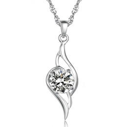Tianyu pendant necklace Korea Korean vintage European and American jewelry wholesale fashion jewelry natural crystal pendant Valentine's Day