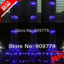 Grosshandels Luminaria Teto Lustre Chrismas 640 LED Licht Kronleuchter Luminarias Para Sala Dekor Navidad Lampe 3 M Schnur Lichter