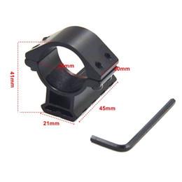 25mm 1''ring scope mounts 21mm weaver rail Picatinny for Flashlight scope 1pc -Y28