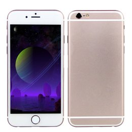 Wholesale 64GB GB Goophone i6S V5 G FDD LTE Touch ID Fingerprint Octa Core MTK6795 Android inch IPS HD GPS MP Camera Smartphone