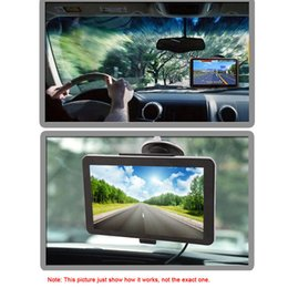 Wholesale KKMOON quot HD Touch Screen Portable GPS Navigator MB RAM GB ROM FM MP3 Video Play Car Navigation Back Support Free Map K3156