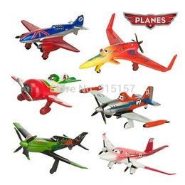 Wholesale 6pcs set pixar planes dusty planes ishani skipper Ripslinger airplane plane model gifts doll classic toys for children