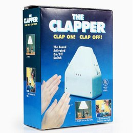 Wholesale The Clapper Clap on Clap off Sound Activated Light Switch US EU Standard With Retail Package