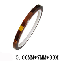 Wholesale MM x M Tape BGA High Temperature Polyimide Sublimation Thermal Tape for Mugs Tiles Heat Transfer ft