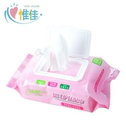 Wholesale 5pcs The newborn baby wet wipes baby wipes fragrance free children hand mouth paper wet skin wipes pumping with cover