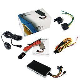 2016 dispositivos anti-robo de coches GT06N Car Tracker GPS cuatribanda GSM dispositivo Mini Vehículo GPRS GPS con sistema antirrobo GT06N Car Electronics 12pcs / lot dispositivos anti-robo de coches baratos
