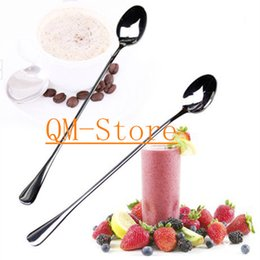 Wholesale Multipurpose Stainless Steel Long Rice Soup Spoon Coffee Tea Ice Cream Cake Dessert Sugar Scoop Soup Dinner Sppon