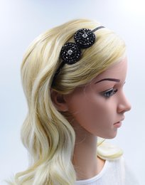 Women Crystal Headband with Rhinestone Circle Hair Jewelry New Fashion Handmade Hair Accessories High Quality for Wholesale