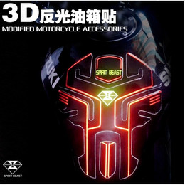 Wholesale Hot Sale Motorcycles Styling Sticker Reflective Fuel Tank Pad Protector Many Style
