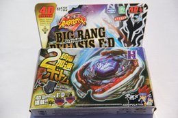 Wholesale 1piece Cosmic Pegasus Big Bang Pegasis F D Metal Fury Beyblade BB105