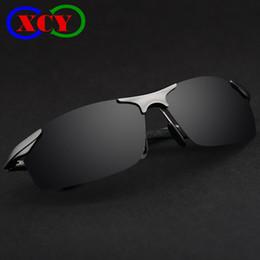 Wholesale Aluminum Magnesium Brand Designer Polarized Sunglasses Mens Glasses Driving Sport Glasses Summer Classic Sale