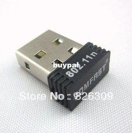 Wholesale USB WiFi Nano Wireless LAN Adaptor Mini Network Card Adapter Realtek Chip Mbpspnm1