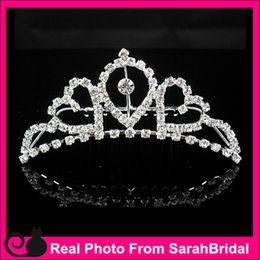 Wholesale Rhinestone Miss Universe Queen Headwear Crowns Cheap Bridal Tiaras Wedding Party Prom Dresses Hair Accessories Head Piece For Bride China
