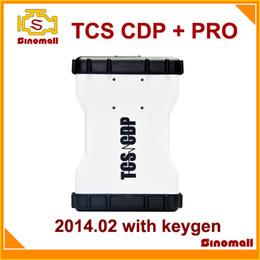 Wholesale Hot sales TCS CDP cdp plus free keygen software for cars trucks generics New delphi model DS150 DS R2