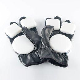 Wholesale-Hot Sale!!! Landyachtz Racing Gloves Leather Racing Longboard Downhill Skateboard Protection Gloves