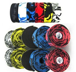 Wholesale High density bicycle handlebar tape rubber tough and good ductility anti slip and shock reduce bike tape