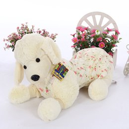 Wholesale piece Sales cm Best Plush Soft Poodle Dolls Stuffed Animals Dressed Puppy Teddy Dogs Toys for Children New Year Gift