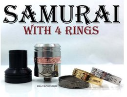 Wholesale Samurai rda clone samurai rda Food Grade Stainless Steel samurai rda atomizer mm vapor mod atomizer for E cigarette Mods