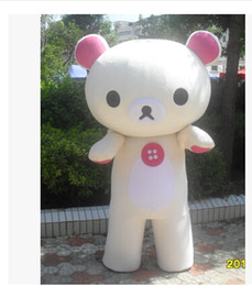 2015 free shipping customized bear Mascot Costumes Rilakkuma Mascot Costumes Rilakkuma Mascot Costumes Manufacturer