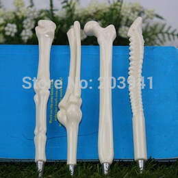 Wholesale Creative bones novelty ballpoint pens lovely bones ball pen korean stationery dandys