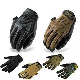 Descuento venta caliente de la motocicleta 2015 Nuevo MECHANIX caliente venta de motocicleta de desgaste al aire libre tiro táctica de la bicicleta de combate militares militares dedo completo guantes