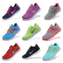 Wholesale 2015 New Style High Quality Free Run Running Shoes For Women Best Lightweight Athletic Tennis Jogging Shoes Eur Size