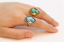 Luxury Cluster Rings for Women Beautiful Rings 18K Gold Plated Rings Unique Design for Sale 14