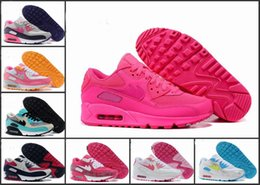 2016 Shoes Run Air Max @High Quality@ 2015 Wholesale Womens USA maxes 90 Hyperfused American FLAG Running Shoes Independence day With Air Cushion HYPs QS Size36-46
