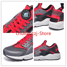 Wholesale 2015 explosion models AIR HUARACHE classic reproduction gray Luna Size Euro36