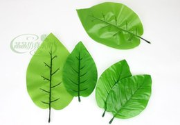 Wholesale Artificial Leaves Painting Model Home Decoration Photography Show Props bell pepper