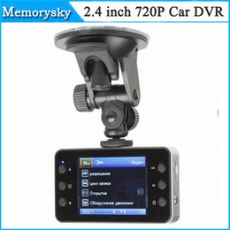 Wholesale Hot Universal Car DVR K6000 inch HD P Digital Night Vision PAL NTSC LTPS LCD Mini Car Auto DVR Vehicle Video Camera Recorder