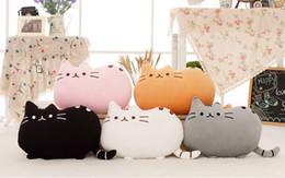New Arrival 40*30cm plush toy stuffed animal doll,talking anime toy pusheen cat for girl kid kawaii,cute cushion brinquedos