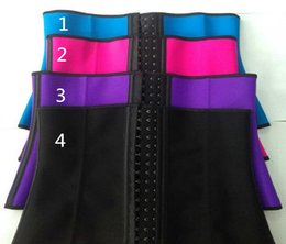 Wholesale XS XL Colors Women Latex Rubber Waist Training Cincher Underbust Corset Body Shaper Shapewear