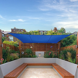 Wholesale Rectangle Shade Sails Pool Garden UV Blocked Shade Sails High Quality Size M M Shade Cloth for Garden Yard