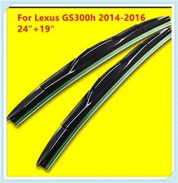 3 Section Rubber Windscreen Wipers For Lexus GS300h Lexus RX150H Lexus GS300 Lexus RX300 Lexus GS450h Lexus LS460H Lexus GT200H Lexus RX400h
