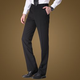 Wholesale Tailleur Pantalon Bureau Western style Business Trousers for Mens Trousers Pants M0020 News Men Formal Pants