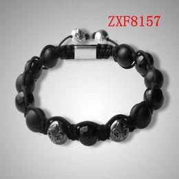 Wholesale COOL bracelet for men hand made beads bracelets shamballa bracelet supplier cheap nialaya new style Natural stone bracelets FactoryZXF8157