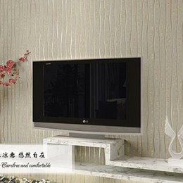 Wholesale Best Solid Striped Pattern Wallpaper Rolls Wallpaper Removable Background Wall Decorations Quarto Decal Papier Papel De Parede AB5195