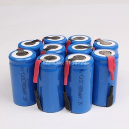 Wholesale New Sub C SC V mAh Ni Cd NiCd Rechargeable Battery Batteries