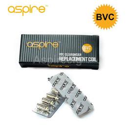 Original Aspire BVC Replacement coil for Aspire ET S CE5 Vivi nova Bottom vertical coil atomizer head vs Nautilus Coil vs Cleito Plato Coil
