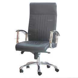 Wholesale US exports of the original single cow split leather manager chair lift grade office swivel chair boss chair computer chair