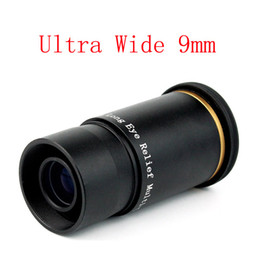 Wholesale 1 quot Ultra Wide Angle Eyepiece Lens MM Degree Fully Multi Coated Broadband Green For Astronomical Telescope W2143A9